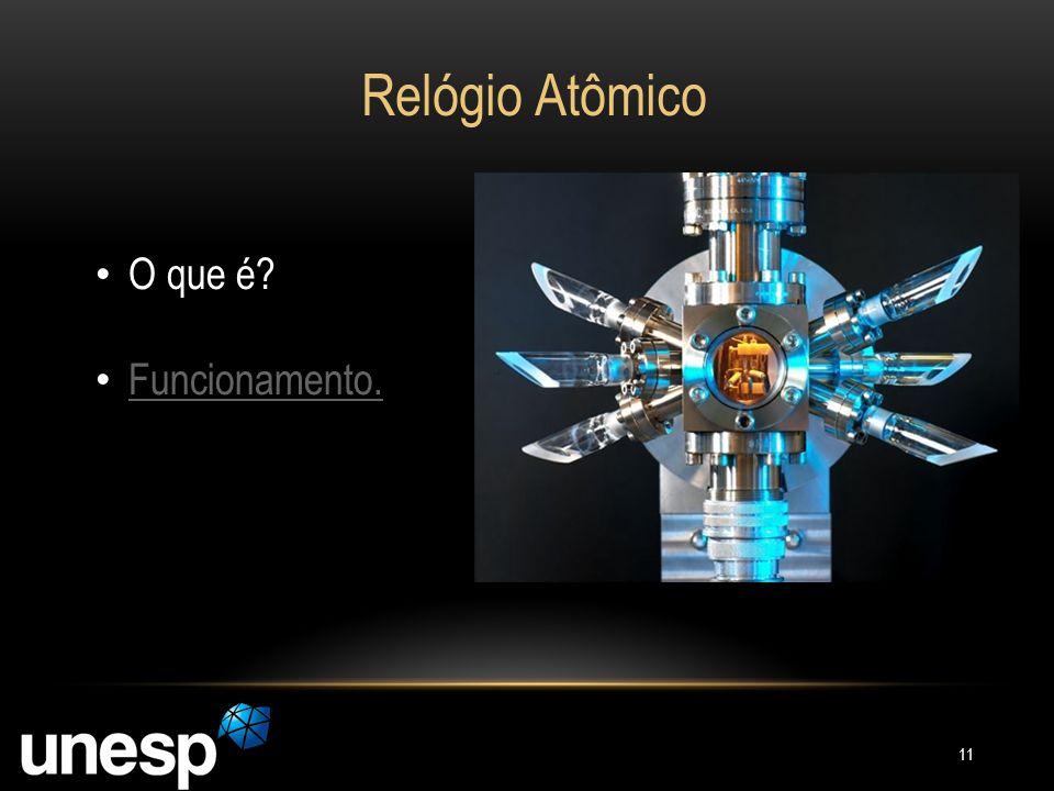 Relógio Atômico O que é Funcionamento.