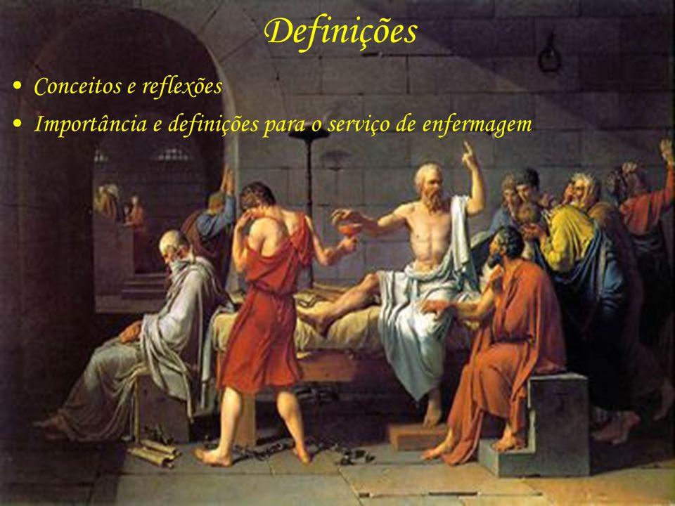 Definições Conceitos e reflexões