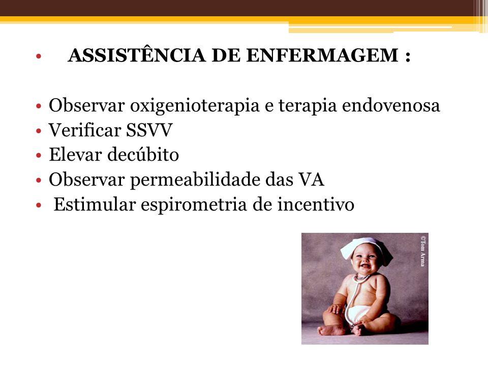 ASSISTÊNCIA DE ENFERMAGEM :