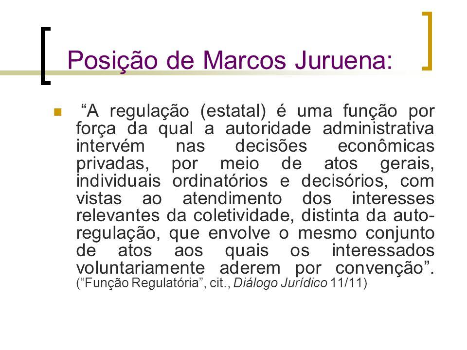 Posição de Marcos Juruena: