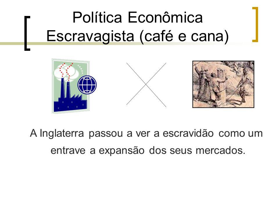 Política Econômica Escravagista (café e cana)
