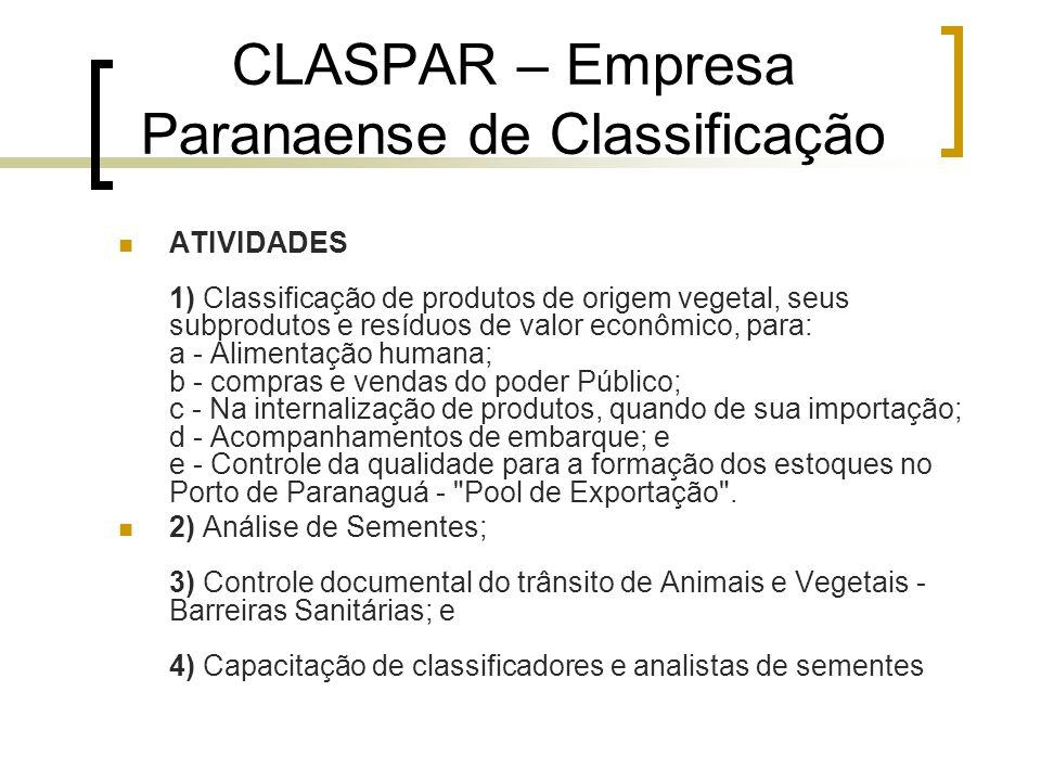 CLASPAR – Empresa Paranaense de Classificação