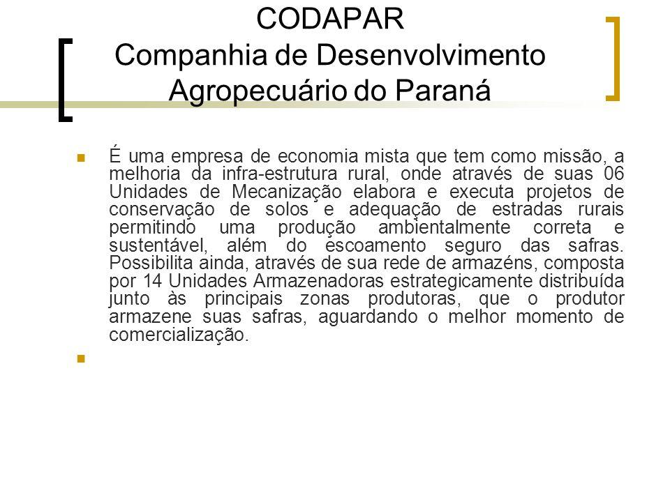 CODAPAR Companhia de Desenvolvimento Agropecuário do Paraná