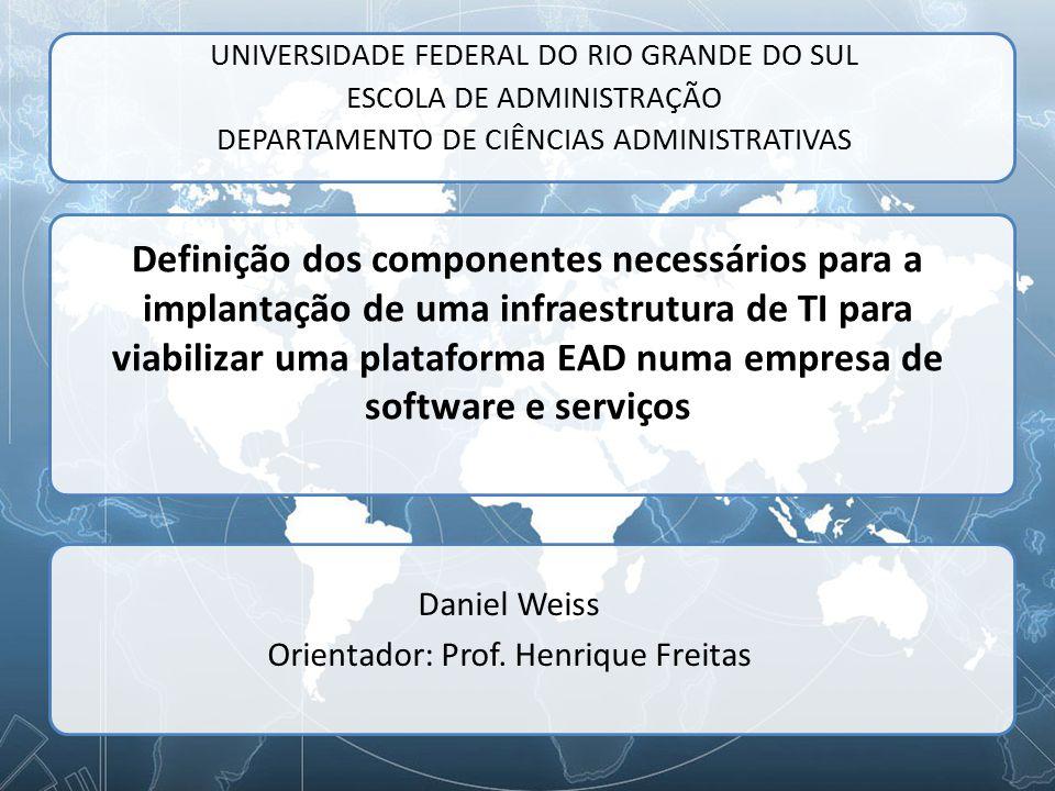 Daniel Weiss Orientador: Prof. Henrique Freitas