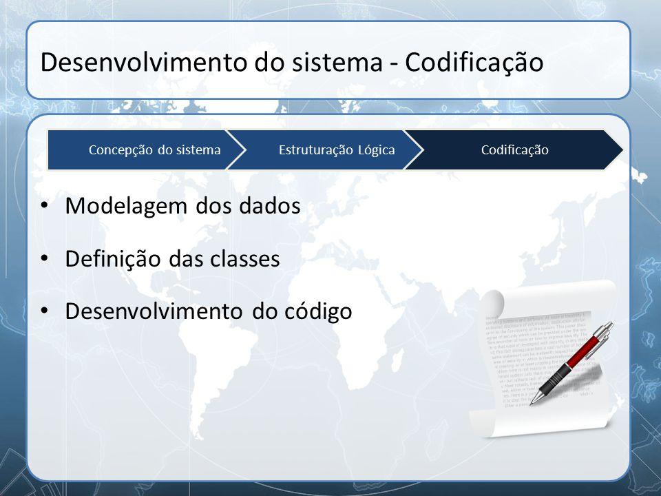 Desenvolvimento do sistema - Codificação