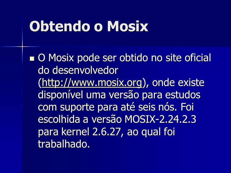 Obtendo o Mosix