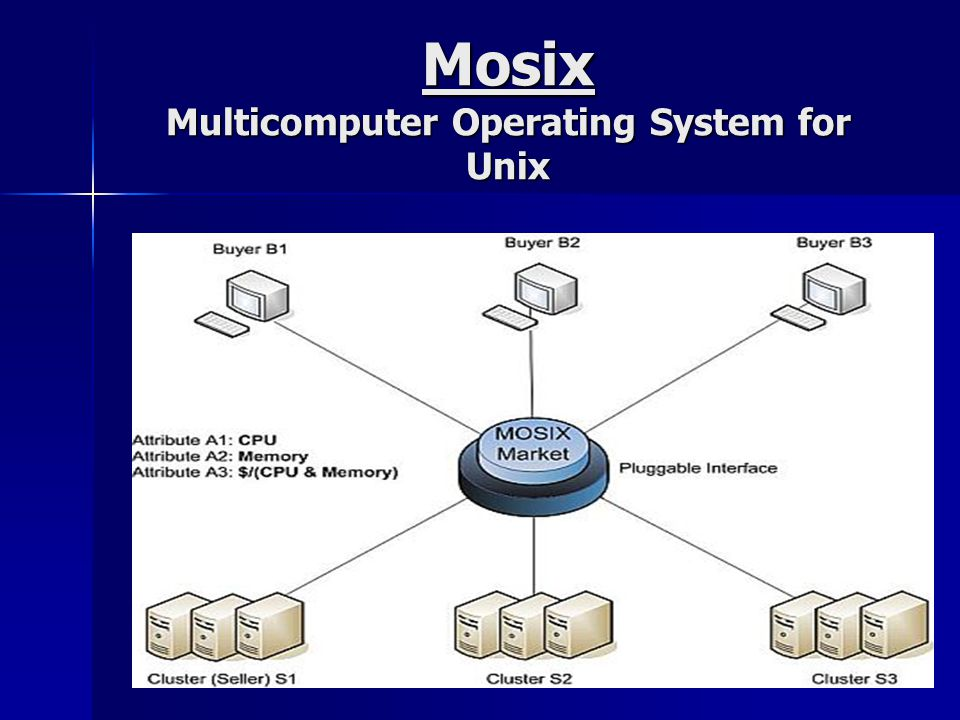 Mosix Multicomputer Operating System for Unix