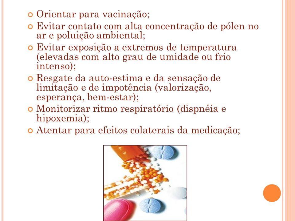 Orientar para vacinação;