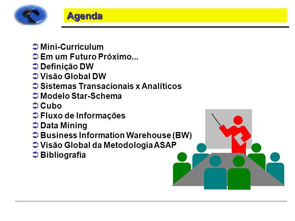 Agenda Mini-Curriculum Em um Futuro Próximo... Definição DW