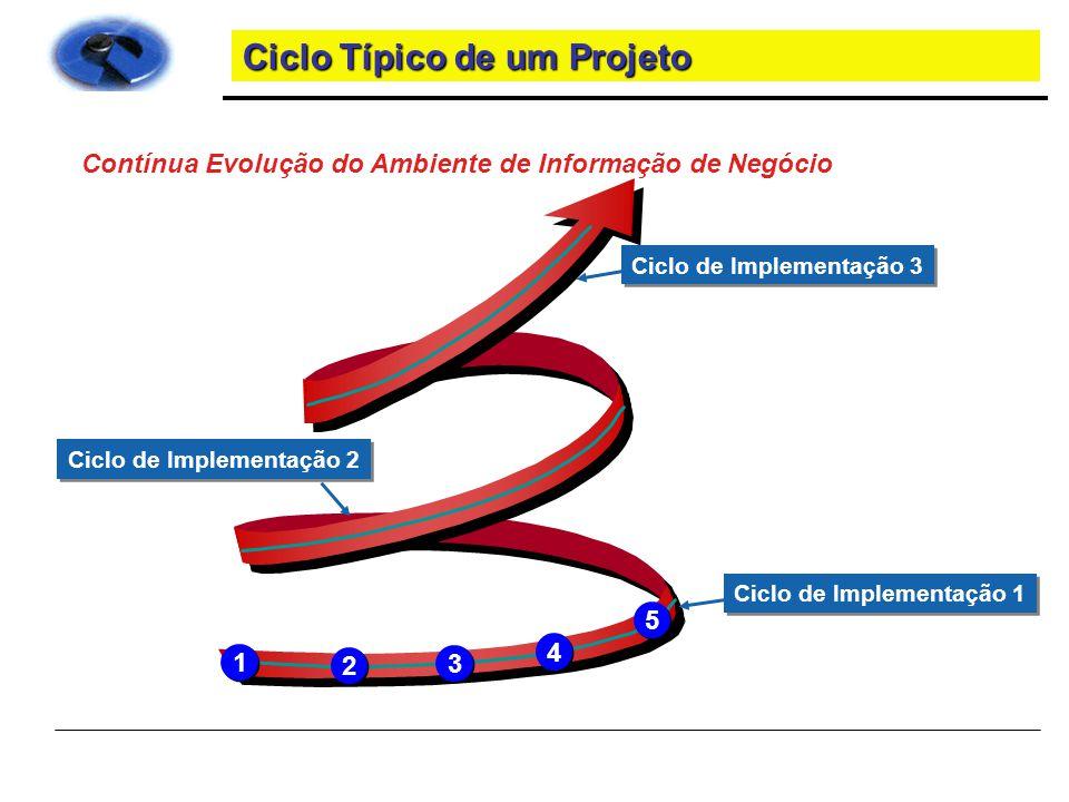Ciclo Típico de um Projeto