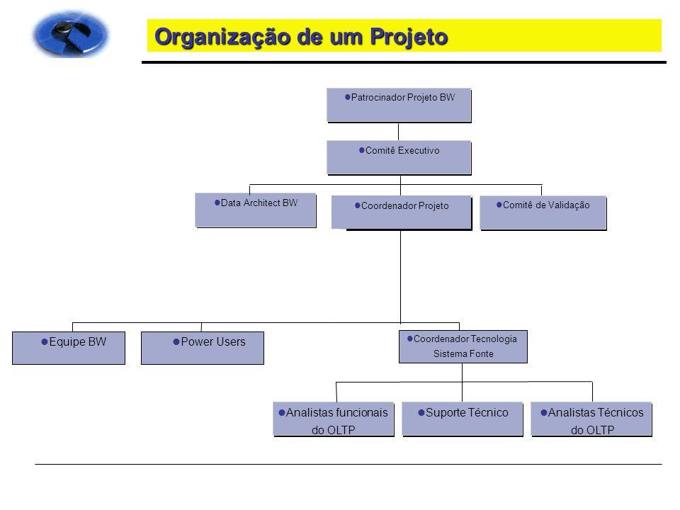 Organização de um Projeto