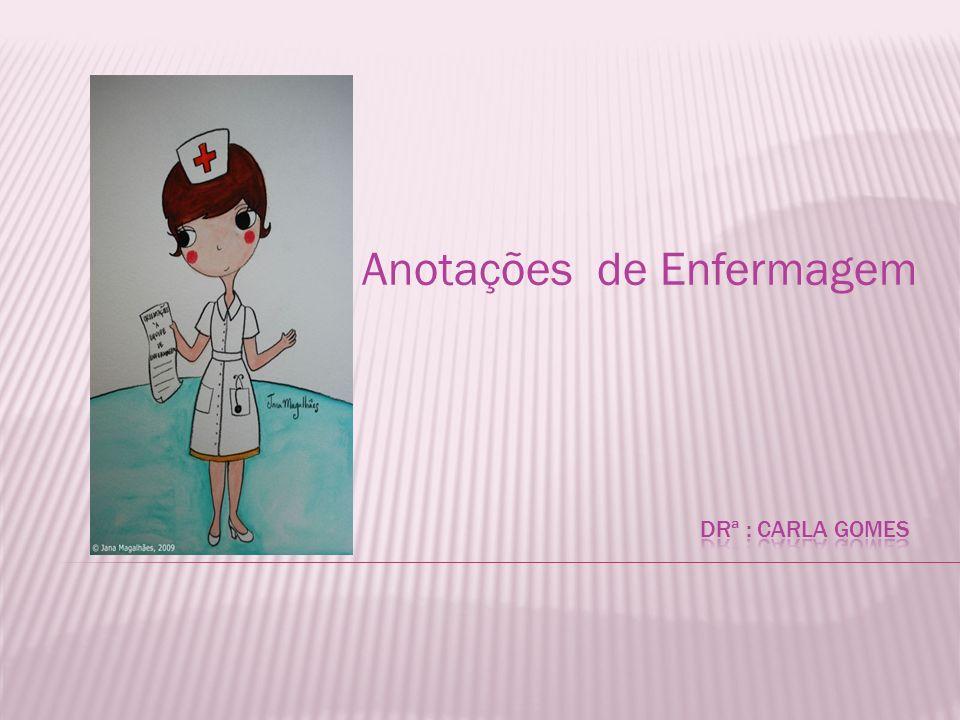Anotações de Enfermagem
