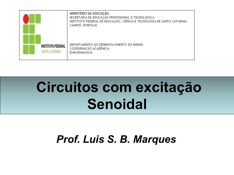 Circuitos com excitação Senoidal