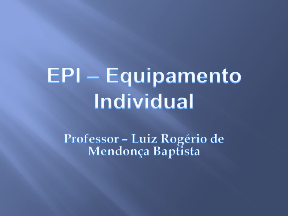 Professor – Luiz Rogério de Mendonça Baptista