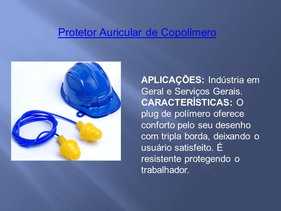 Protetor Auricular de Copolímero
