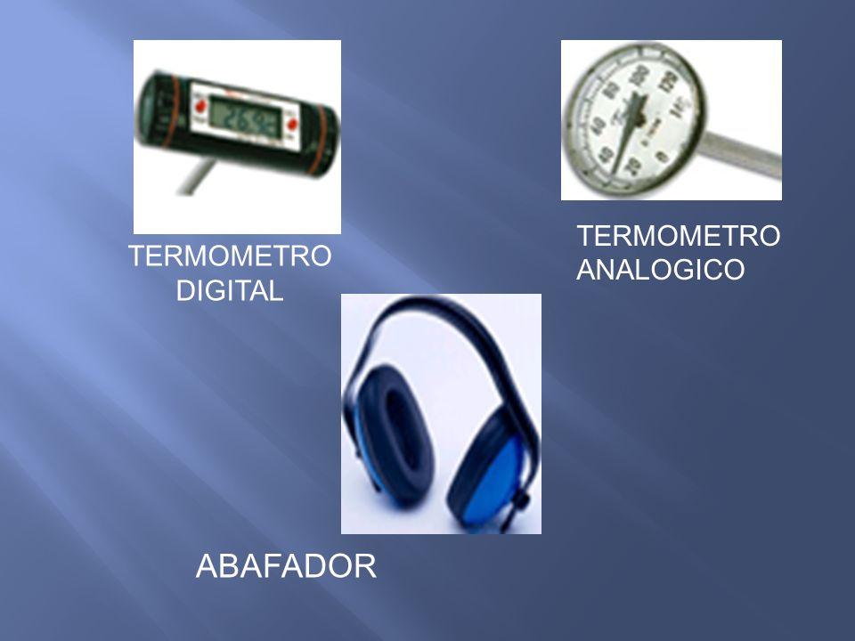 TERMOMETRO ANALOGICO TERMOMETRO DIGITAL ABAFADOR