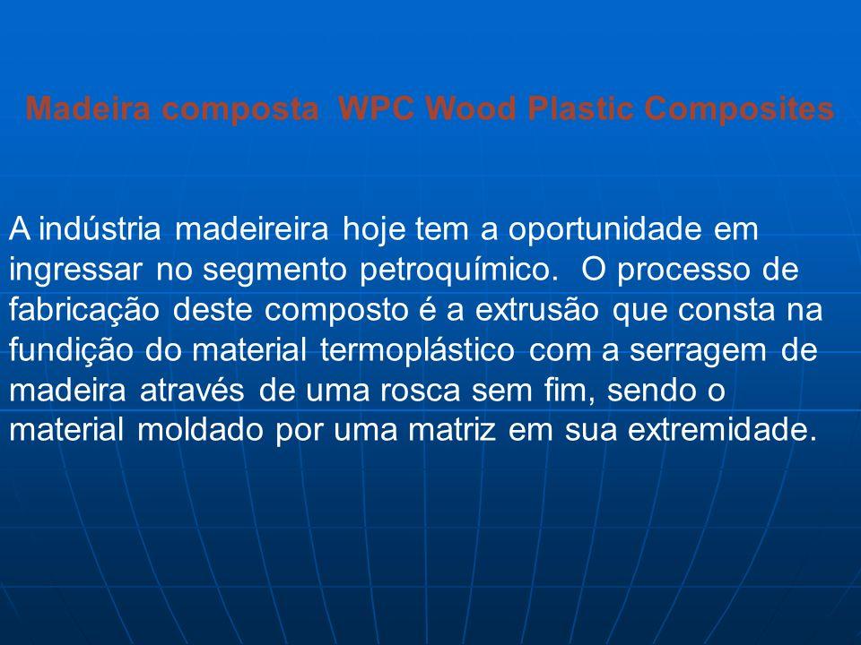 Madeira composta WPC Wood Plastic Composites