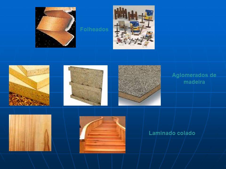 Aglomerados de madeira