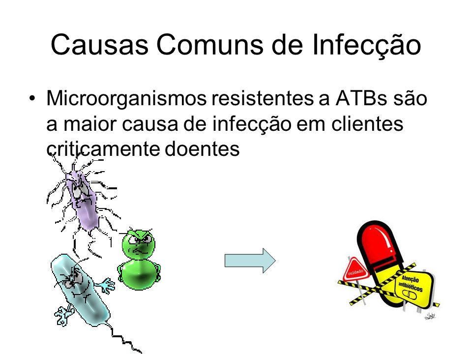 Causas Comuns de Infecção