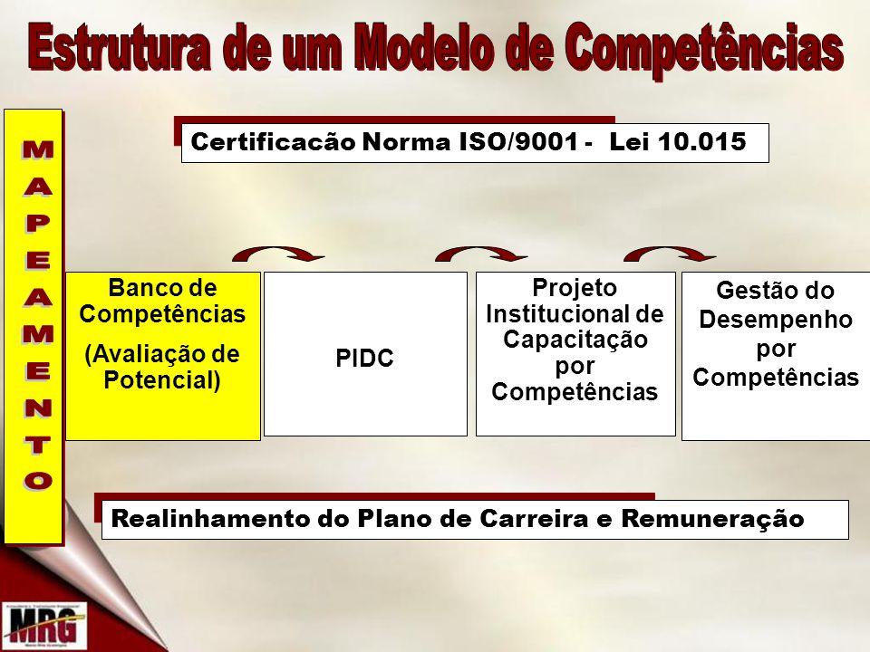 Estrutura de um Modelo de Competências