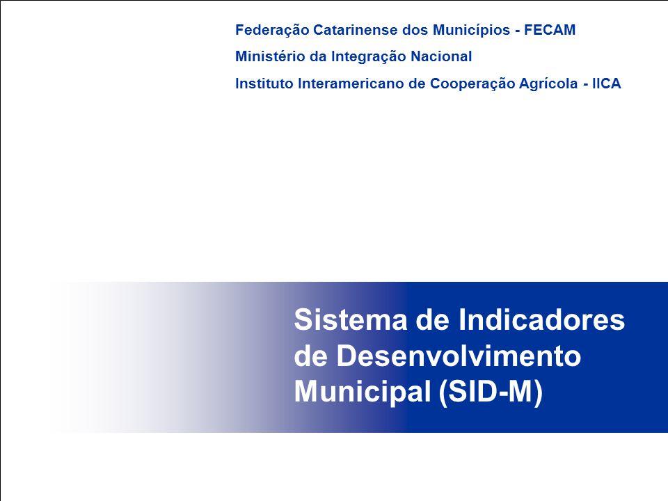Sistema de Indicadores de Desenvolvimento Municipal (SID-M)
