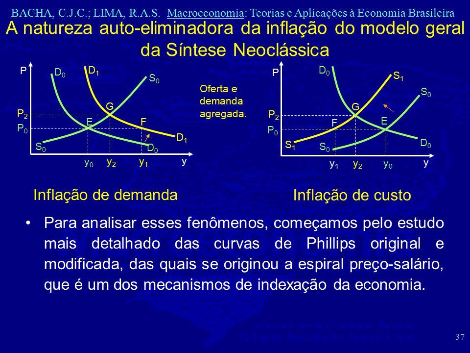 A natureza auto-eliminadora da inflação do modelo geral da Síntese Neoclássica