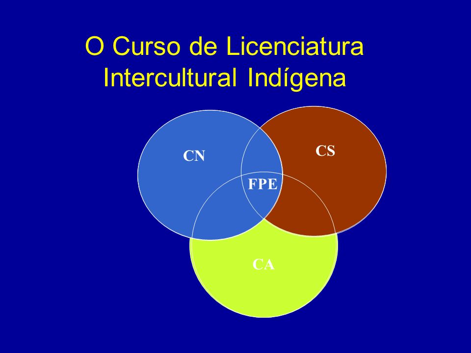 O Curso de Licenciatura Intercultural Indígena