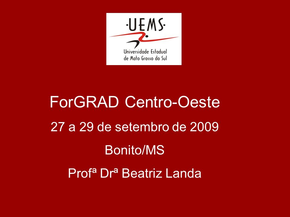 Profª Drª Beatriz Landa