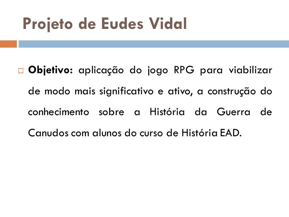Projeto de Eudes Vidal