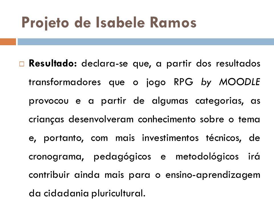 Projeto de Isabele Ramos