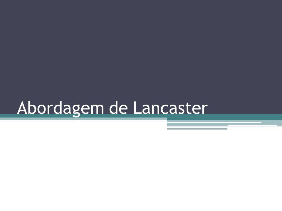 Abordagem de Lancaster