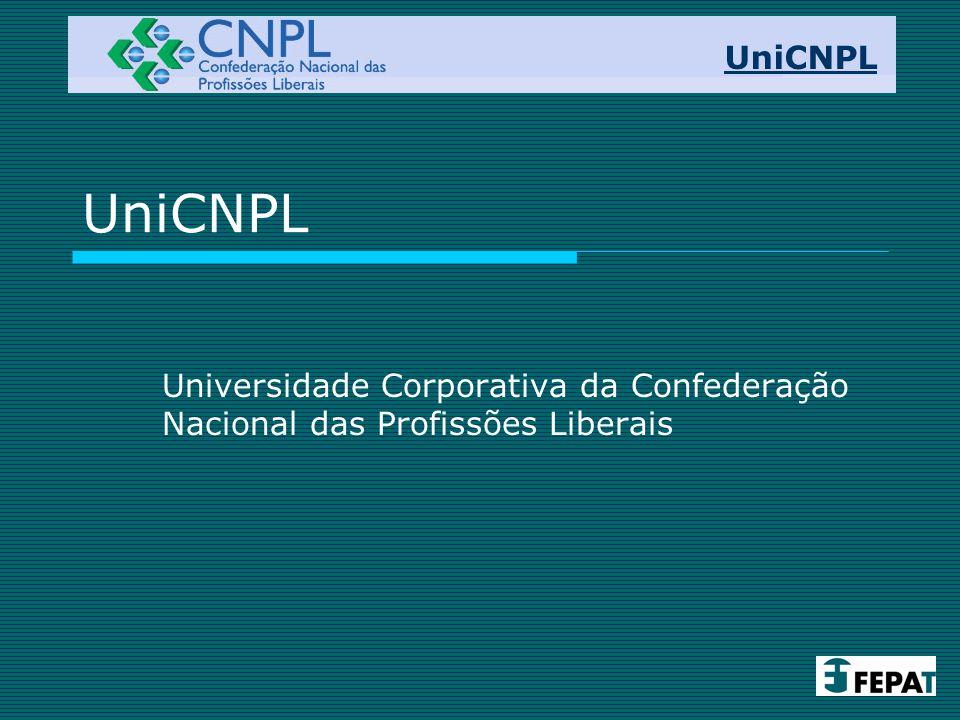 UniCNPL UniCNPL Universidade Corporativa da Confederação Nacional das Profissões Liberais