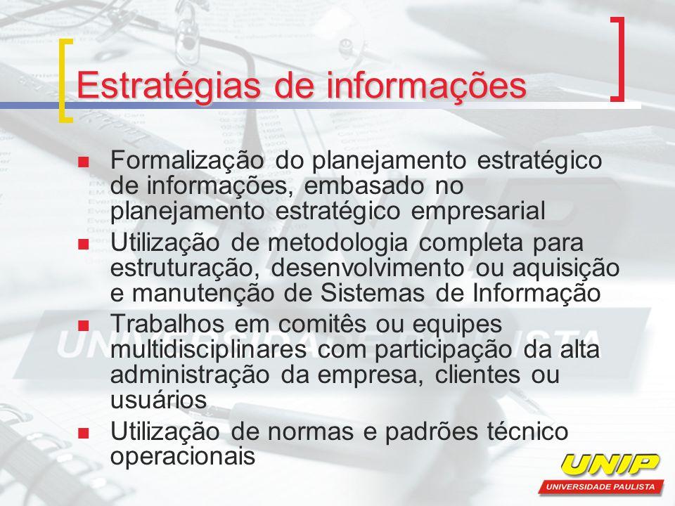 Estratégias de informações