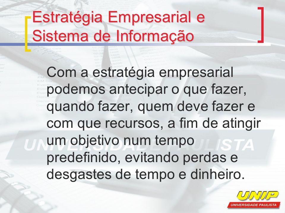 Estratégia Empresarial e Sistema de Informação