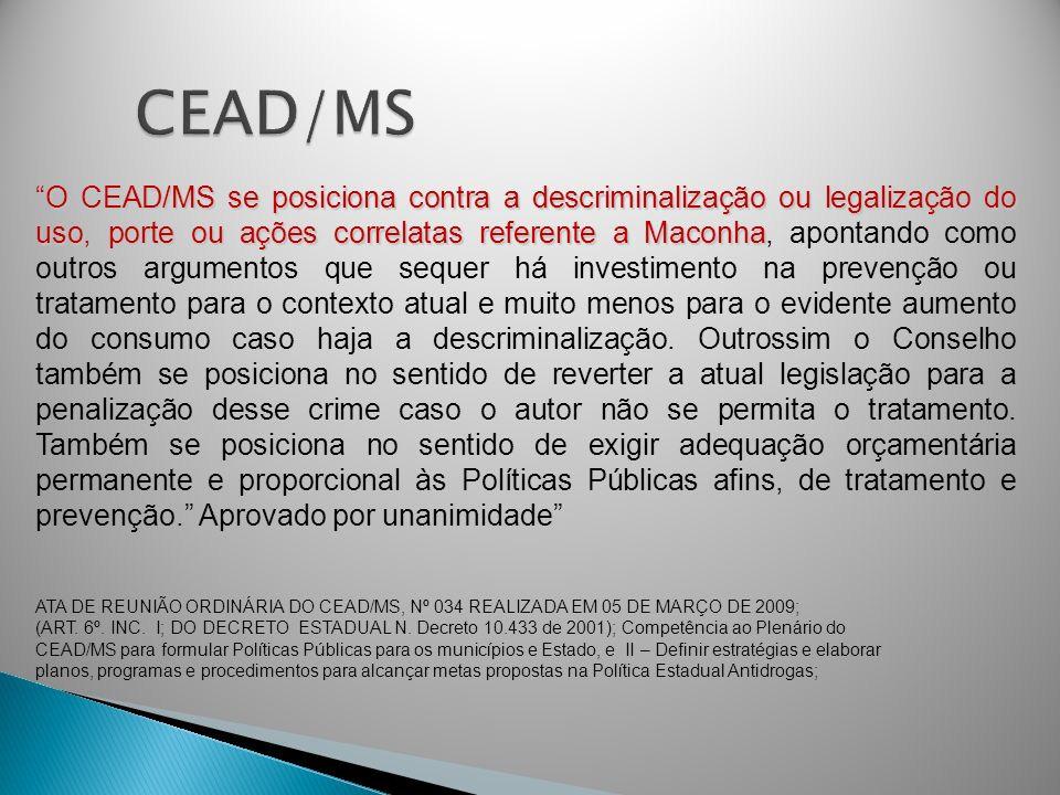 CEAD/MS