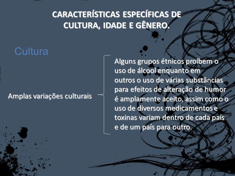 CARACTERÍSTICAS ESPECÍFICAS DE