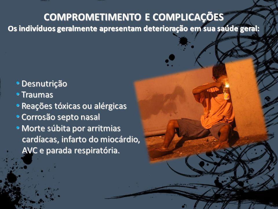COMPROMETIMENTO E COMPLICAÇÕES