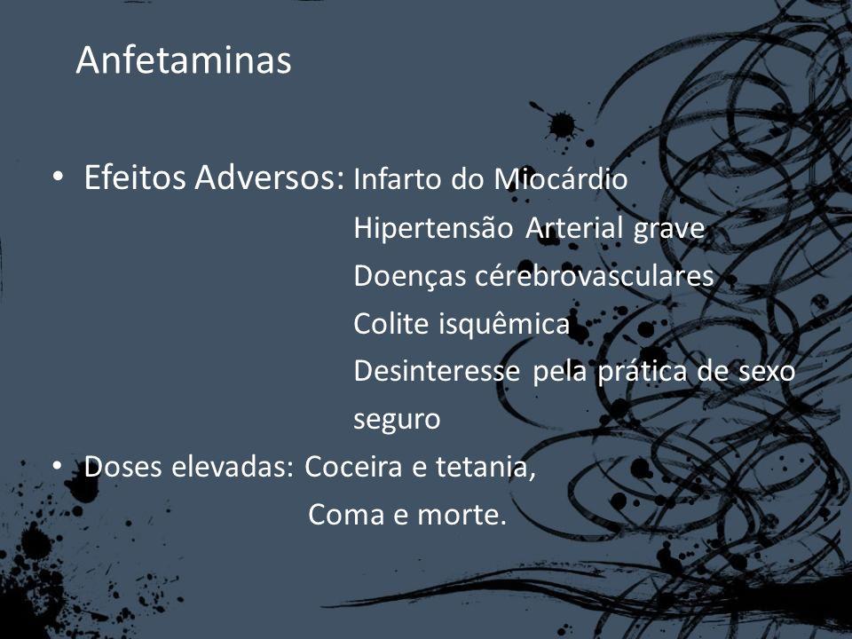 Anfetaminas Efeitos Adversos: Infarto do Miocárdio