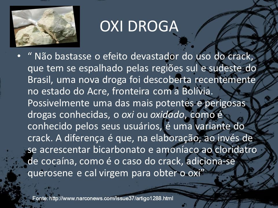 OXI DROGA