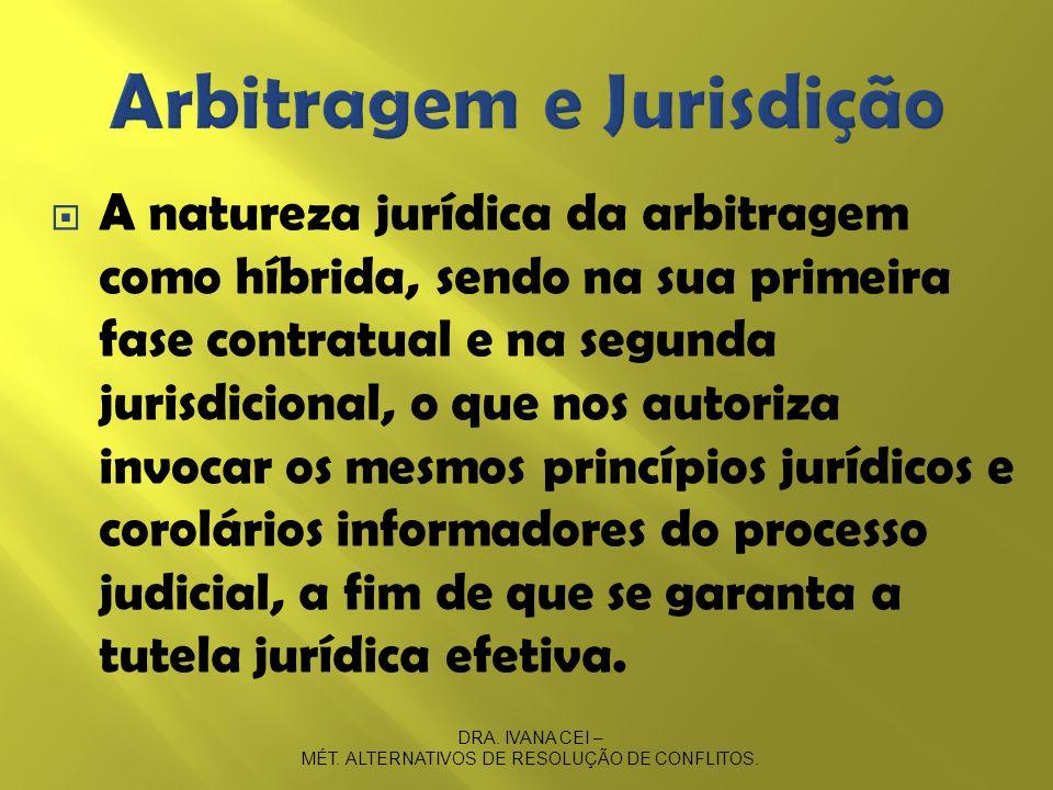 Arbitragem e Jurisdição