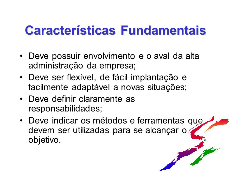 Características Fundamentais