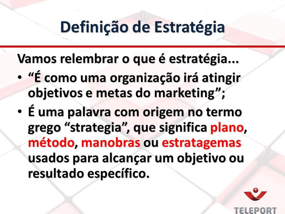 Definição de Estratégia