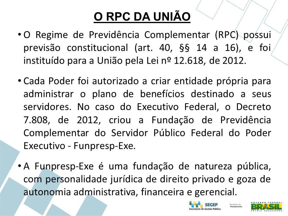O RPC DA UNIÃO