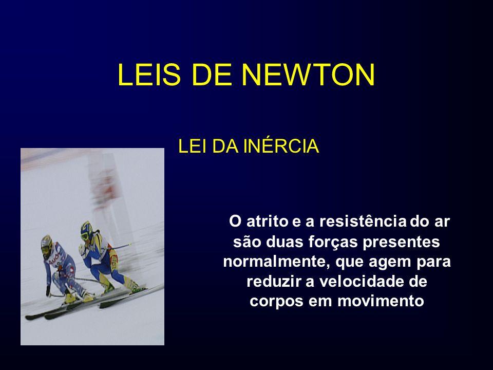 LEIS DE NEWTON LEI DA INÉRCIA