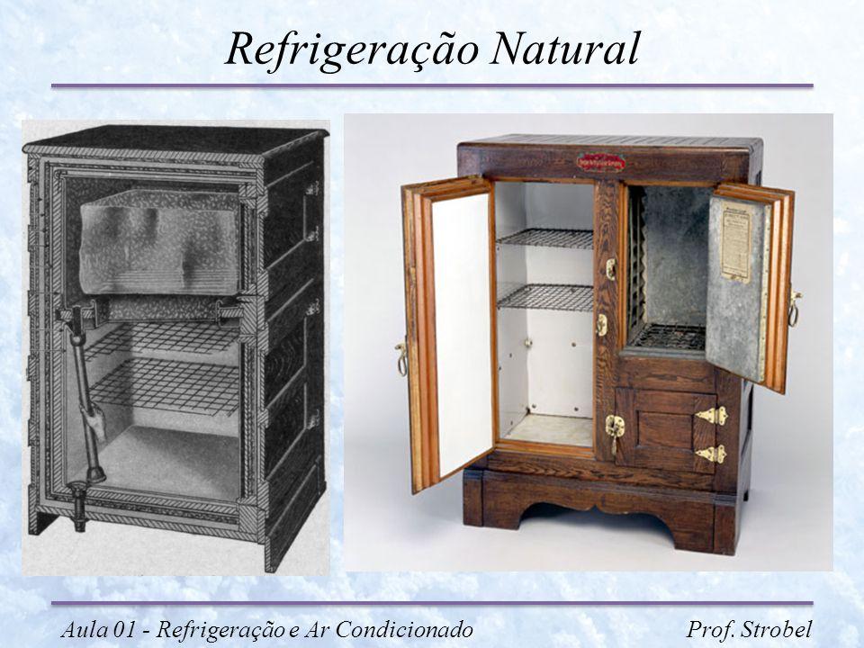 Refrigeração Natural Aula 01 - Refrigeração e Ar Condicionado Prof.