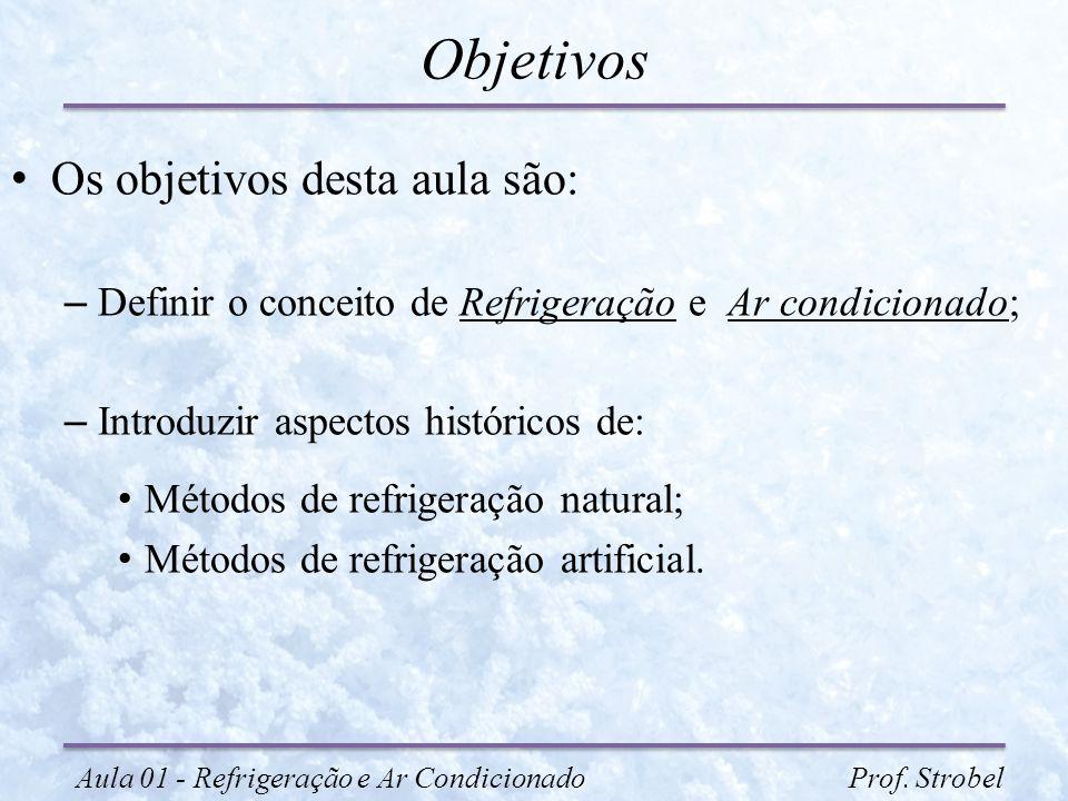 Objetivos Os objetivos desta aula são: