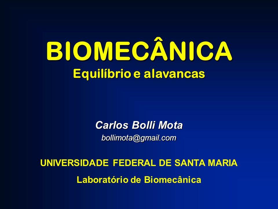 BIOMECÂNICA Equilíbrio e alavancas Carlos Bolli Mota