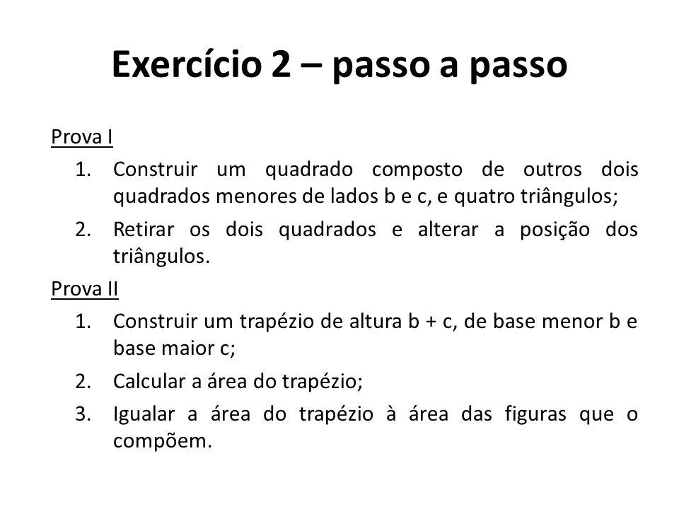 Exercício 2 – passo a passo
