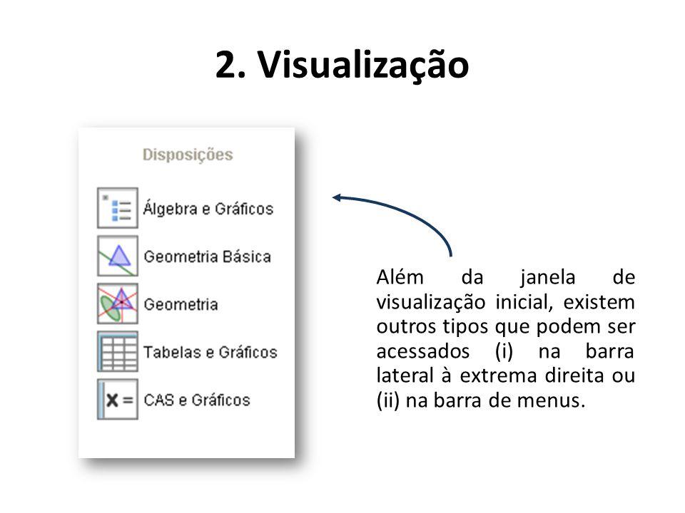 2. Visualização