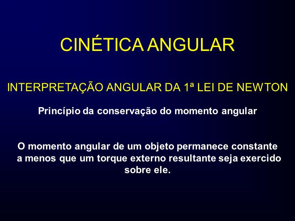 Princípio da conservação do momento angular